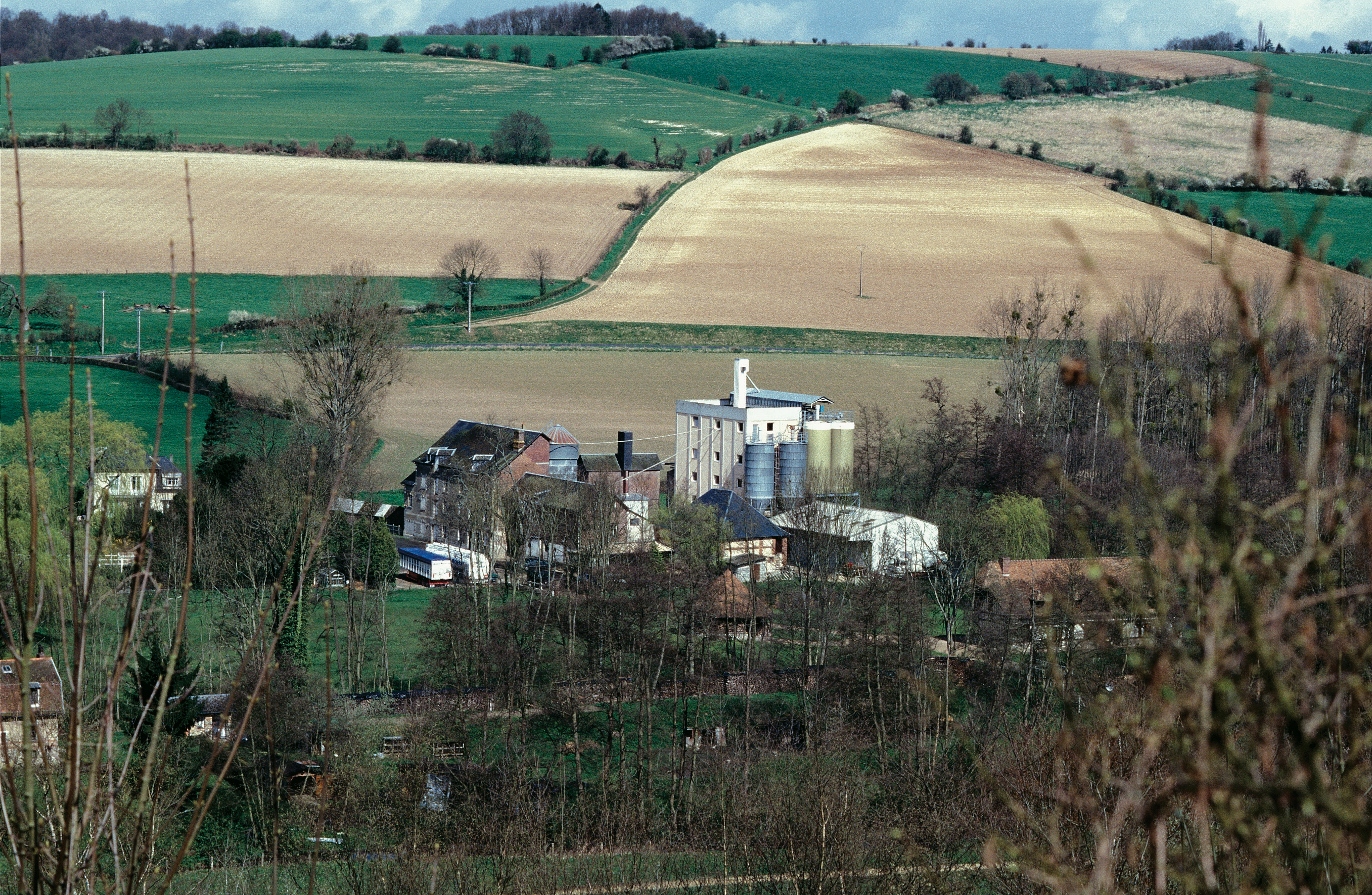 Vue d'un moulin
